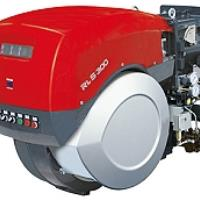 Riello RLS/M MX Series Low NOx Package Dual Fuel Burner