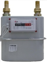GA Meters  Diaphragm Gas Meter