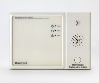 Honeywell Hard-Wired Flammable Gas Alarm